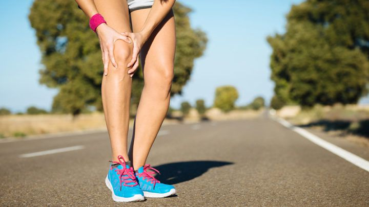 knee pain and start running