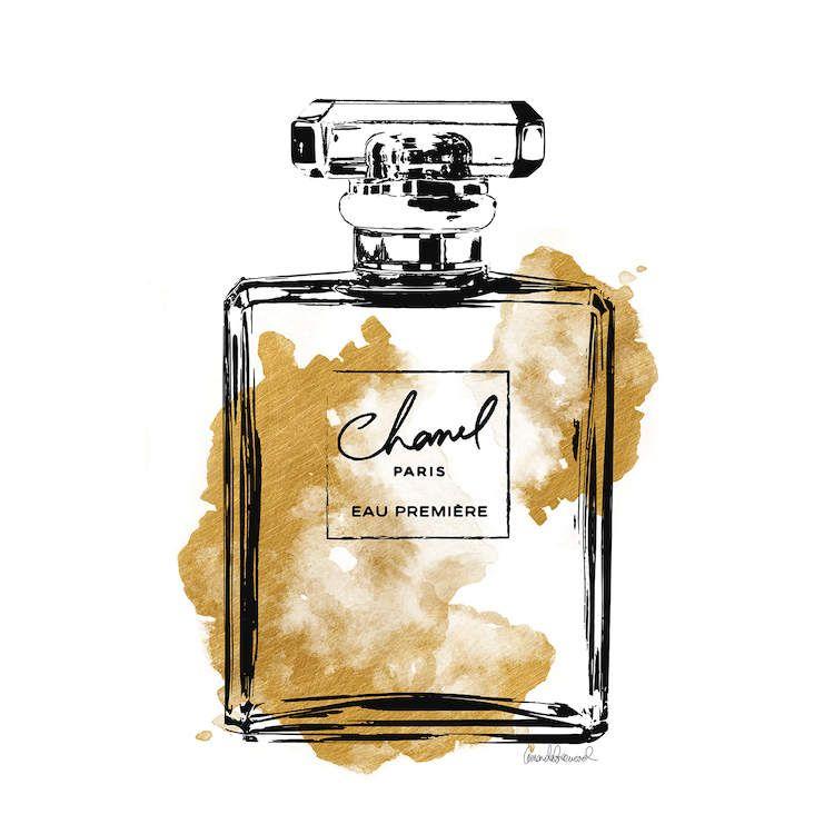 Perfume bottle art